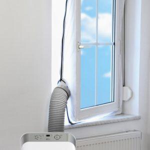 Fensterabdichtung für mobile Klimaanlagen